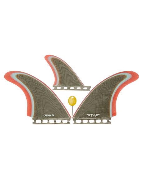 COFFEE BOARDSPORTS SURF CAPTAIN FIN CO. FINS - CFF2411703-COFCOF