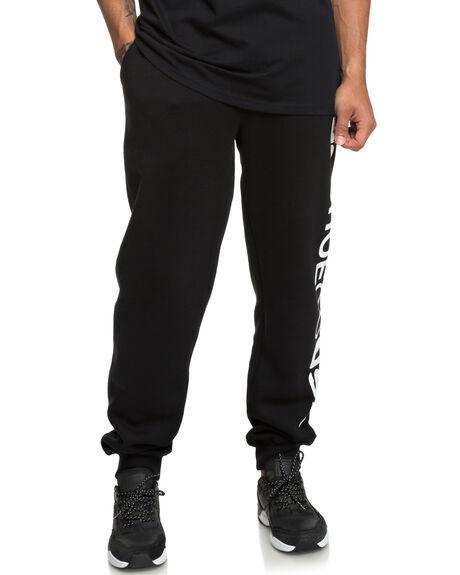 BLACK MENS CLOTHING DC SHOES PANTS - EDYFB03052KVJ0