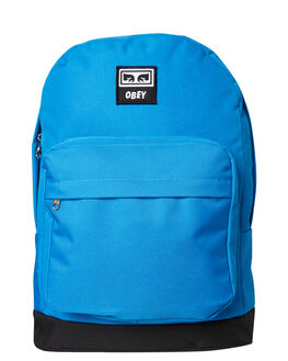 SKY BLUE MENS ACCESSORIES OBEY BAGS + BACKPACKS - 100010096SKY