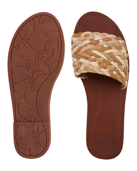 NATURAL WOMENS FOOTWEAR ROXY FASHION SANDALS - ARJL200759-NAT