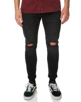 HURRICANE BLACK MENS CLOTHING WRANGLER JEANS - W-901072-CX4HURBK