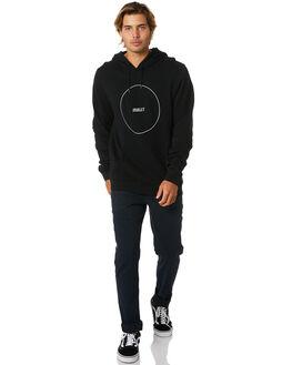 BLACK MENS CLOTHING HURLEY JUMPERS - CU0356010