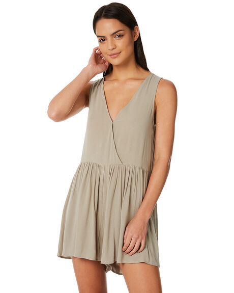 SAGE GREEN OUTLET WOMENS ELWOOD PLAYSUITS + OVERALLS - W84728SAGE
