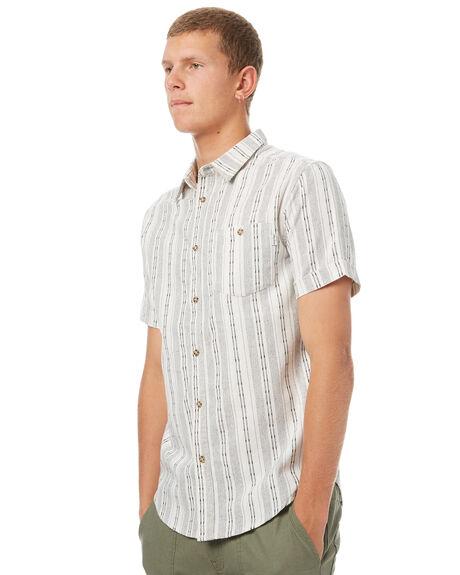 NATURAL MENS CLOTHING RHYTHM SHIRTS - OCT17M-WT06-NAT