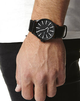 BLACK WHITE MENS ACCESSORIES NIXON WATCHES - A105005