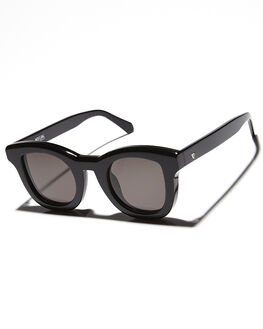 GLOSS BLACK WOMENS ACCESSORIES VALLEY SUNGLASSES - S0168GLBLK