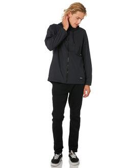 BLACK MENS CLOTHING HURLEY JACKETS - BV2696010