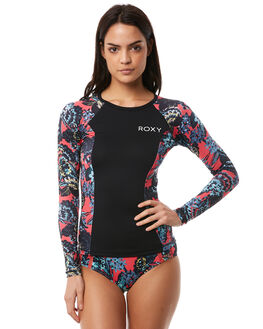 RED MAHNA MAHNA SURF RASHVESTS ROXY WOMENS - ERJWR03209MLJ5