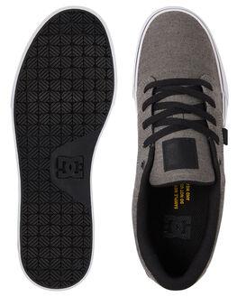 BLACK/BLACK/GREY MENS FOOTWEAR DC SHOES SNEAKERS - ADYS300036-XKKS