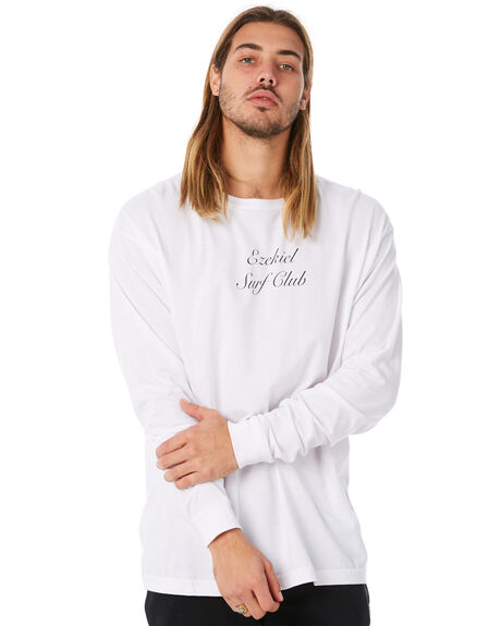 WHITE MENS CLOTHING EZEKIEL TEES - EM174074WHT