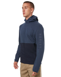 OBSIDIAN MENS CLOTHING HURLEY JUMPERS - 895094451