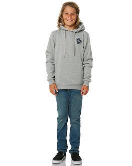 GREY MARLE KIDS BOYS SWELL JUMPERS + JACKETS - S3193445GRYMA