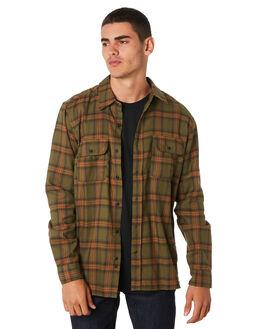 OLIVE CANVAS MENS CLOTHING HURLEY SHIRTS - AO9716395