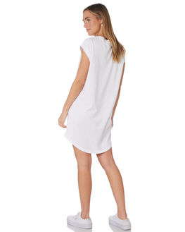 WHITE WOMENS CLOTHING RUSTY DRESSES - DRL0999WHT