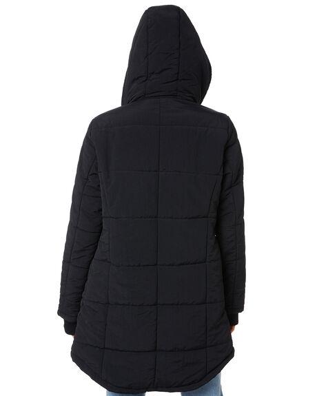 BLACK WOMENS CLOTHING RIP CURL JACKETS - GJKEL10090