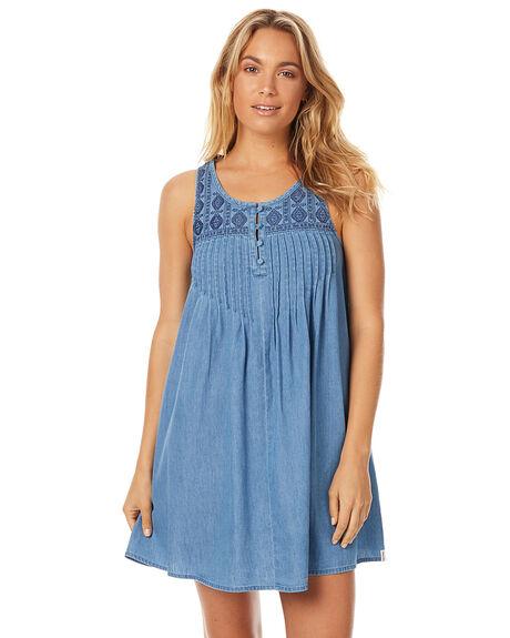 CLOUD BLUE WOMENS CLOTHING VOLCOM DRESSES - B1311715CLB