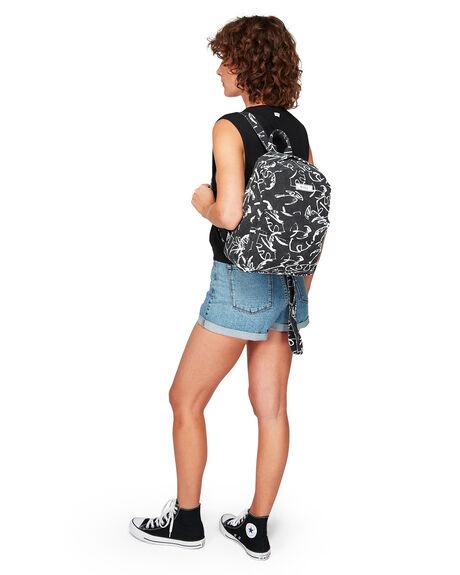 BLACK WOMENS ACCESSORIES RVCA BAGS + BACKPACKS - RV-R292452-BLK