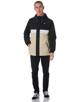 BLACK MENS CLOTHING ST GOLIATH JACKETS - 4320024BLK