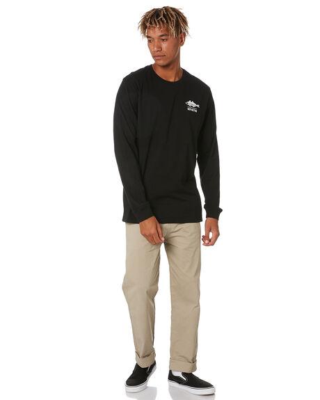BLACK MENS CLOTHING DEPACTUS TEES - D5211102BLACK