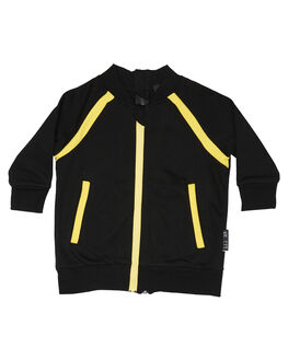 BLACK YELLOW STRIPE OUTLET KIDS LIL MR CLOTHING - LM-CONVBYS