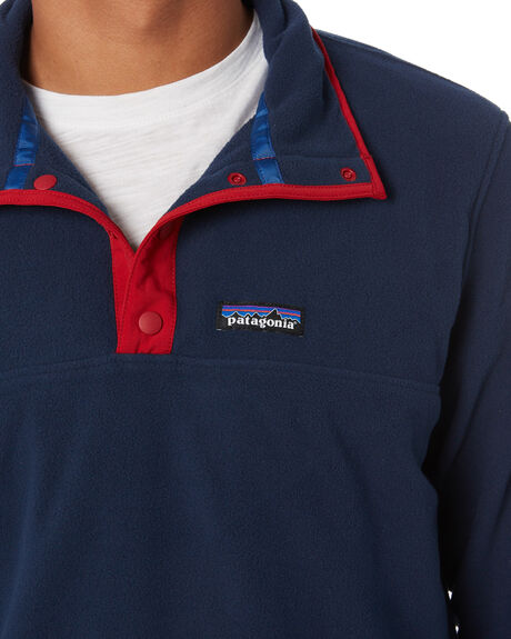 NEW NAVY CLASSIC RED MENS CLOTHING PATAGONIA JUMPERS - 26165NNCR