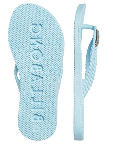 DREAM BLUE KIDS GIRLS BILLABONG THONGS - 5661853DRE