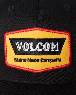 BLACK MENS ACCESSORIES VOLCOM HEADWEAR - D5511913BLK