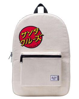 JAPANESE NATURAL MENS ACCESSORIES HERSCHEL SUPPLY CO BAGS + BACKPACKS - 10076-02568-OSJNAT