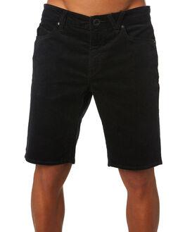 BLACK MENS CLOTHING VOLCOM SHORTS - A0931901BLK