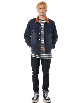 DIRTY DENIM MENS CLOTHING BANKS JACKETS - WJT0025DDN