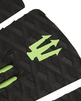 BLACK LIME BOARDSPORTS SURF FAR KING TAILPADS - 1214BLKLM