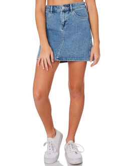 BLEACHED INDIGO KIDS GIRLS RIDERS BY LEE SHORTS + SKIRTS - R-80149T-LL3BLCH