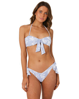 LIGHT BLUE WOMENS SWIMWEAR RIP CURL BIKINI TOPS - GSIAH21080