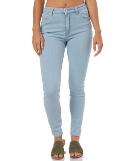 SKY LIGHT WOMENS CLOTHING ROLLAS JEANS - 124113195