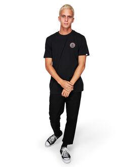 FLINT BLACK MENS CLOTHING ELEMENT TEES - EL-184014-IFL