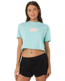 MINT LEAF WOMENS CLOTHING RUSTY TEES - TTL1006MLF