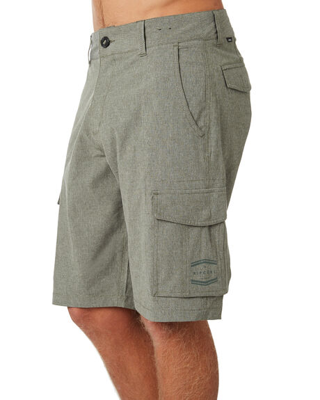 OLIVE MENS CLOTHING RIP CURL SHORTS - CWAKH10058