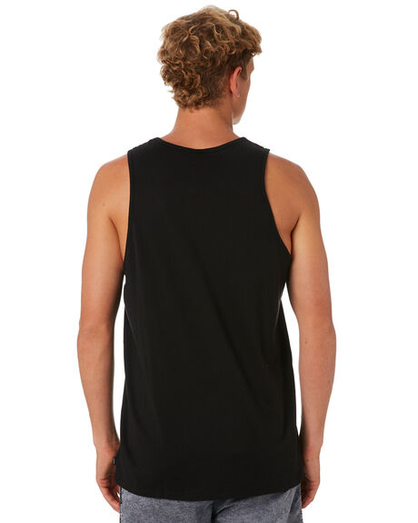 BLACK MENS CLOTHING SWELL SINGLETS - S5202281BLACK