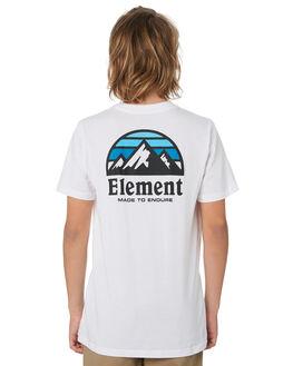 OPTIC WHITE KIDS BOYS ELEMENT TOPS - 396001OWHT