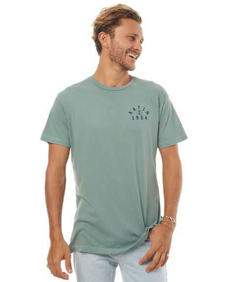 SMOKEY GREEN MENS CLOTHING KATIN TEES - TSHOU16SMGRN