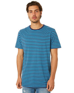 BLUE OUTLET MENS SWELL TEES - S5182005BLUE