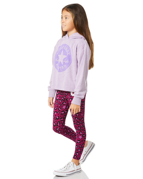 VIOLET STAR HEATHER KIDS GIRLS CONVERSE JUMPERS + JACKETS - R46A329P6W
