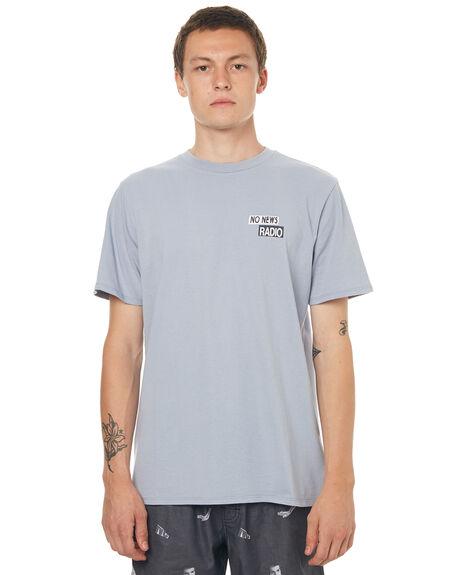ARCTIC BLUE MENS CLOTHING NO NEWS TEES - N5171005ARTBL