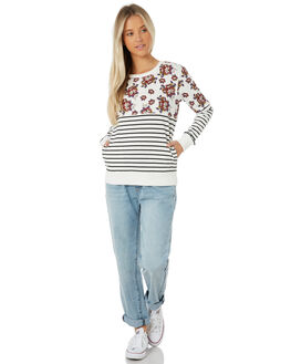 STRIPE WOMENS CLOTHING SWELL JUMPERS - S8183553STRIP