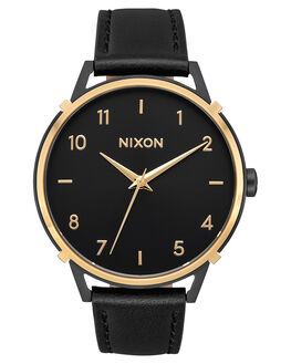 BLACK GOLD CAGE MENS ACCESSORIES NIXON WATCHES - A1091-3220