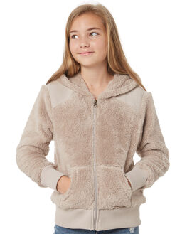 COCONUT SHELL KIDS GIRLS BILLABONG JUMPERS + JACKETS - 5595735CNS