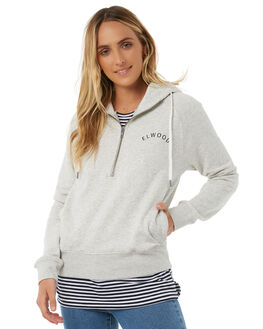 LIGHT GREY WOMENS CLOTHING ELWOOD JUMPERS - W81216355