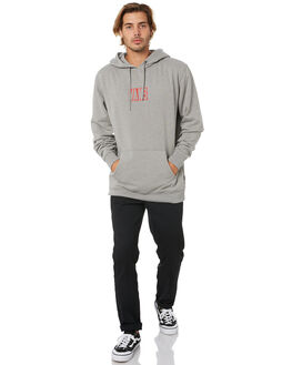 CEMENT HEATHER MENS CLOTHING VANS JUMPERS - VN0A49SH02FCMNT