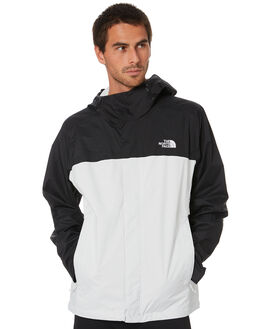 TIN GREY TNF BLACK MENS CLOTHING THE NORTH FACE JACKETS - NF0A2VD35WH