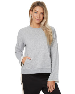 GREY MARLE WOMENS CLOTHING THE HIDDEN WAY JUMPERS - H8172544GREYM